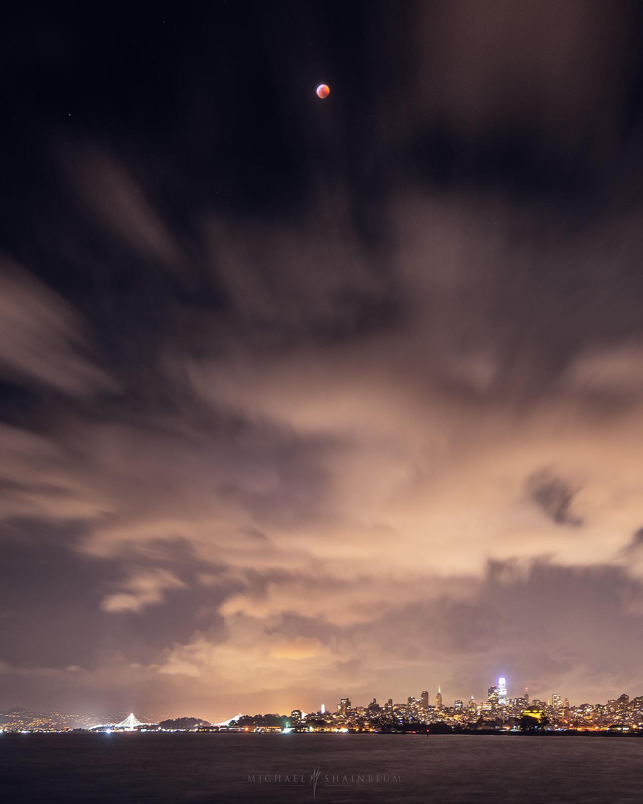 Blood Moon San Francisco Eclipse