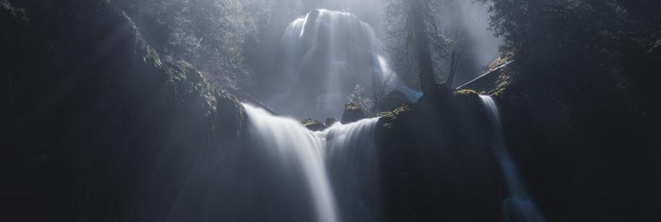 Washington Waterfall Landscape Photography.