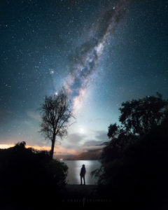 New Zealand Milky Way Landscape Photography