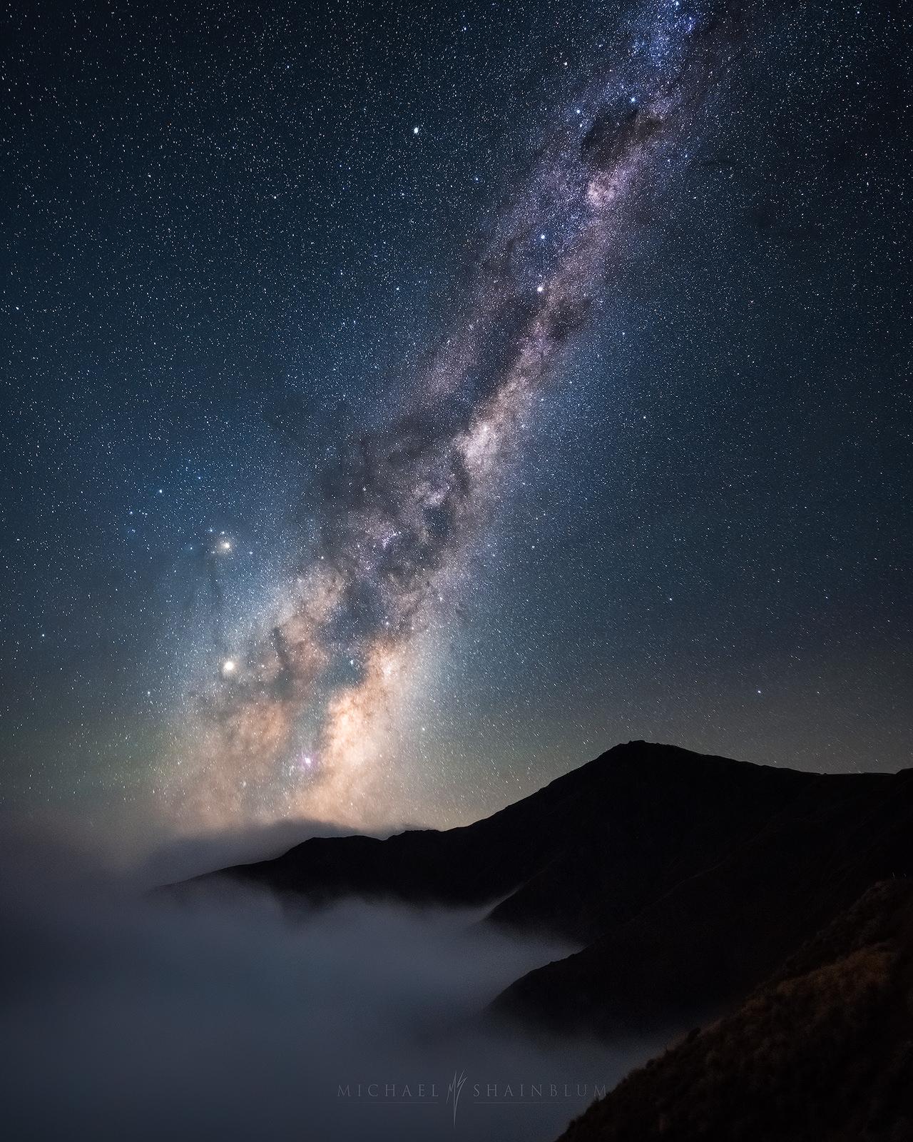 New Zealand Milky Way Landscape Photography