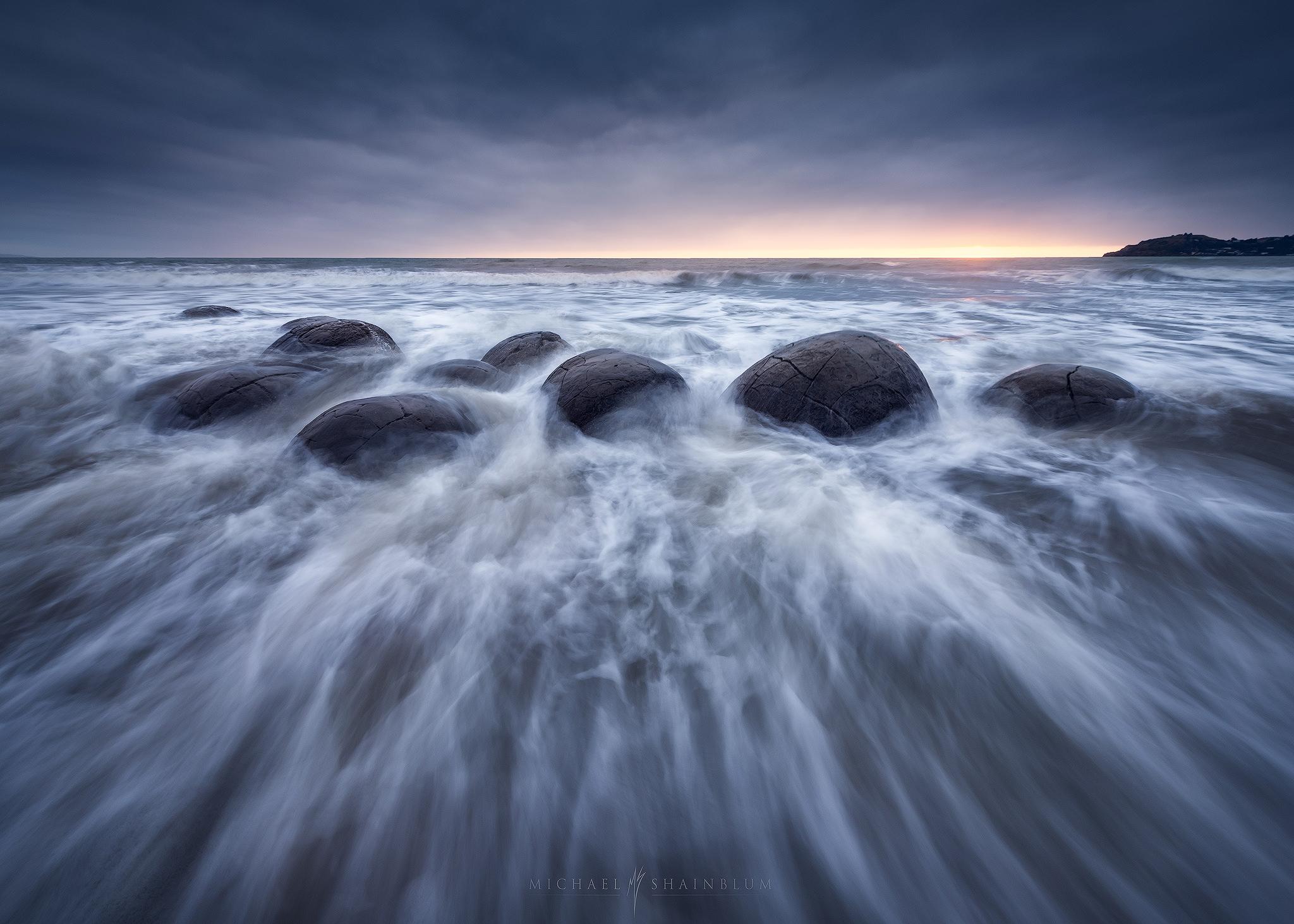 moeraki boulders, New Zealand Landscape Photography