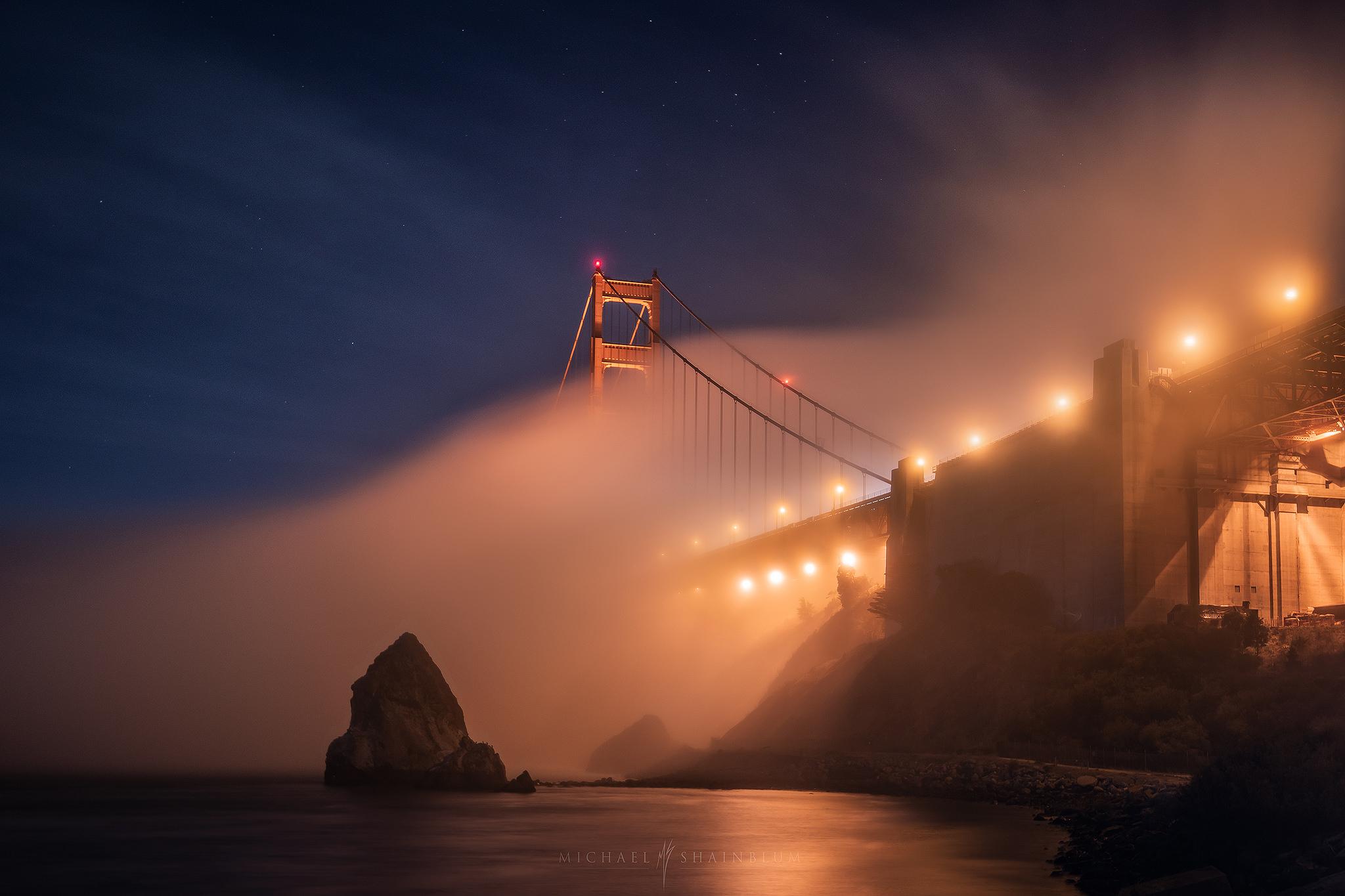 San Francisco Fog Landscape Photography, San Francisco Timelapse